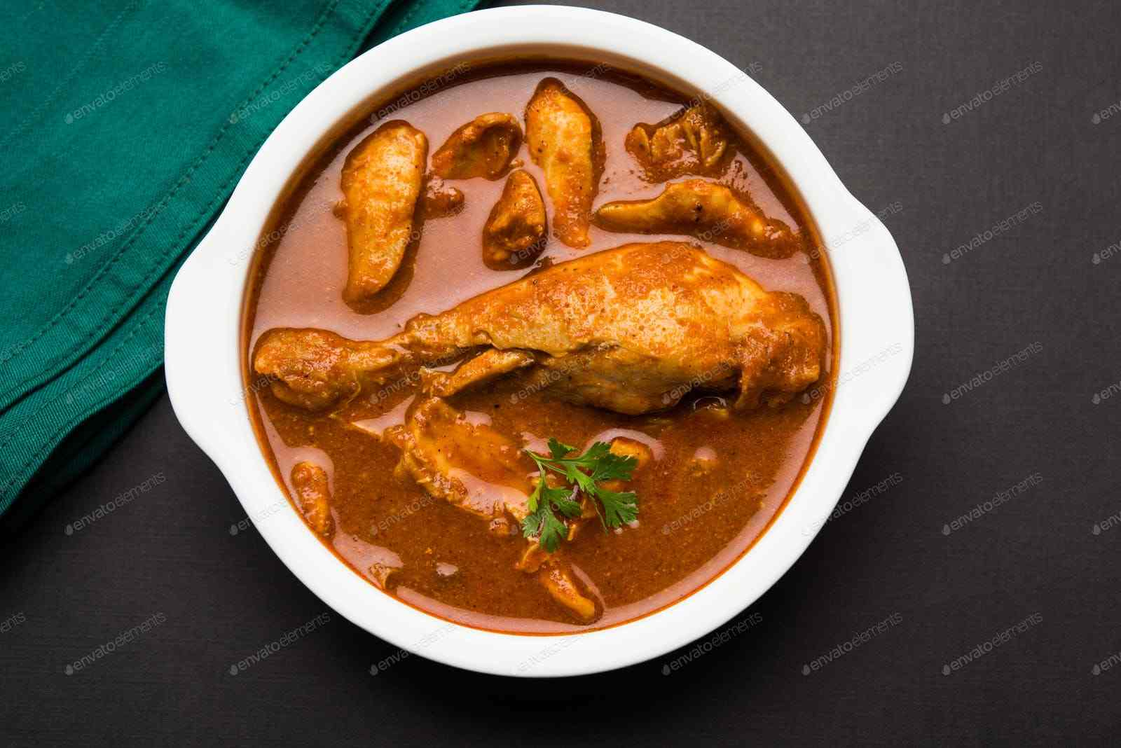 Chicken Entrees (Served with Rice)