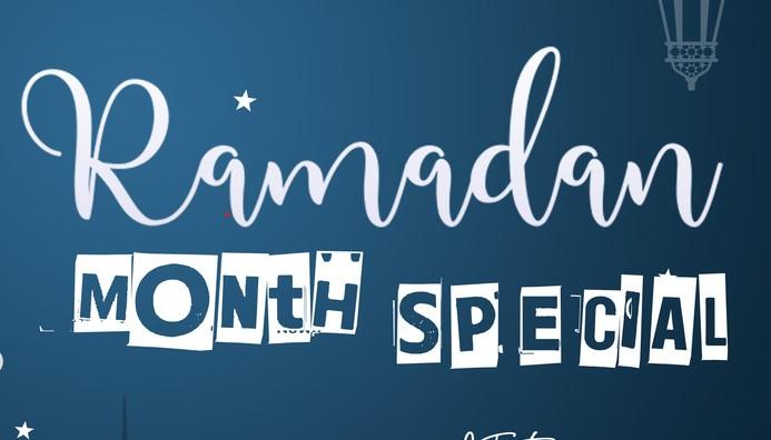 Ramadan month special