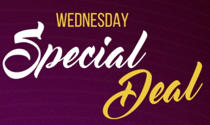 Wednesday Special Deal