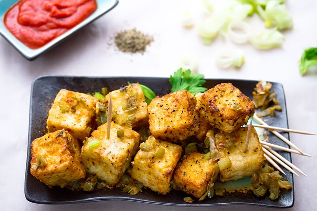 Paneer Salt & Pepper