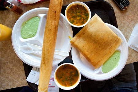 Chili Cheese Dosa