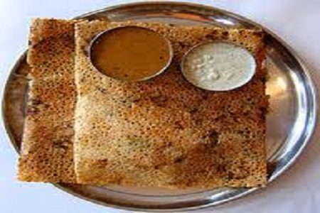Chilly Chicken Dosa