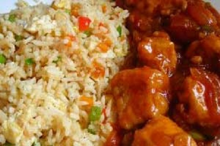 Chicken Schezuan Fried Rice