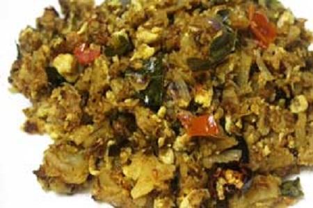 Chicken Kothu Paratha