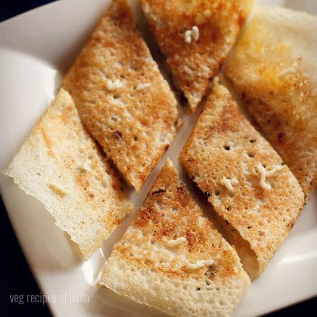 Mini Cheese Dosa