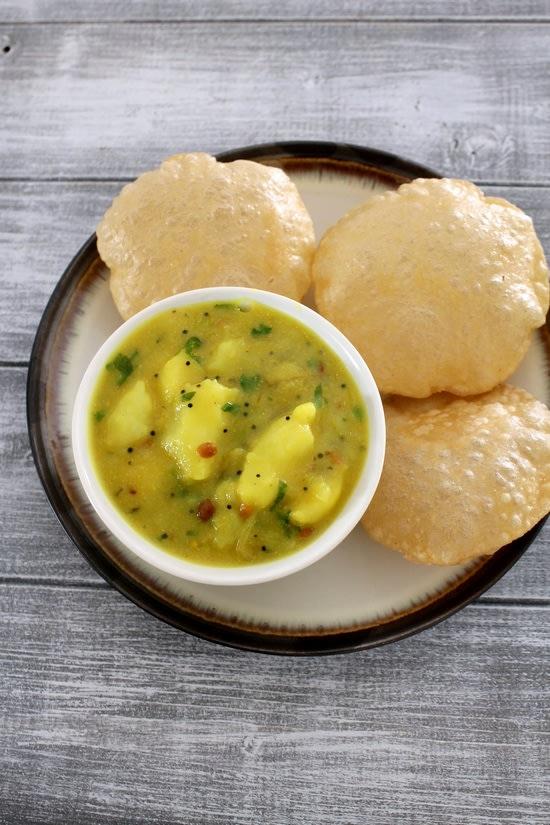 Poori Masala (2 pcs)