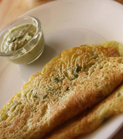 Rava Dosa (Plain / Onion / Masala)