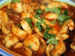 Mushroom Masala (THALI)