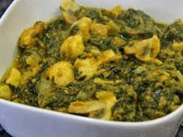 Mushroom Saag (THALI)