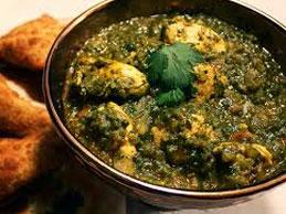 Chicken Saag (THALI)