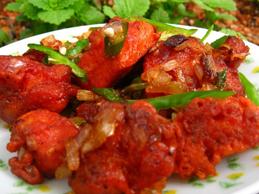 Ginger Chicken (THALI)