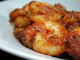 Shrimp Vindaloo (THALI)