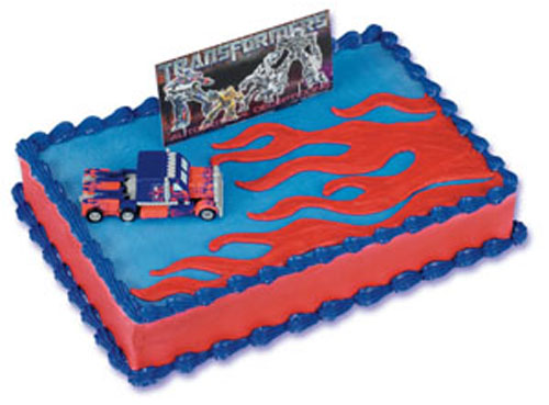 Transformer Movie Cake (Fig & Banner) - CK-395C