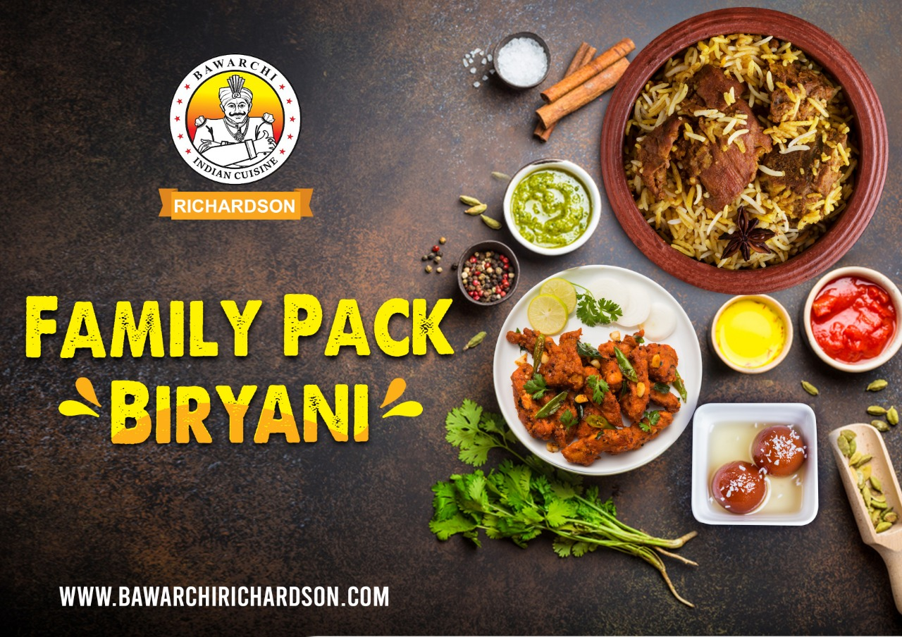 Hyderabadi Dum Biryani - Family Pack