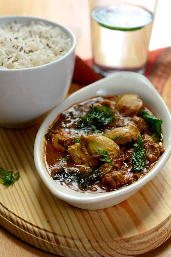 Chettinadu Curry - Chicken