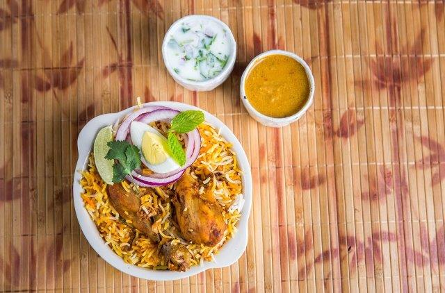 Hyderabad Dum Biryani - Chicken