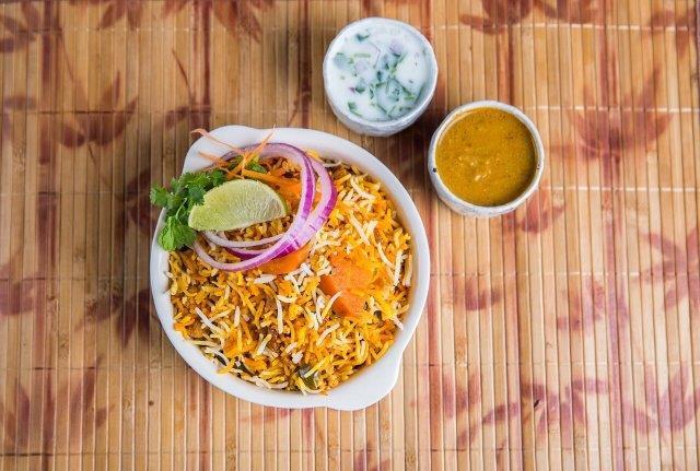 Hyderabad Dum Biryani - Veg