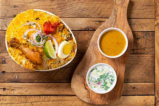 Chicken Dum Biryani (Single)