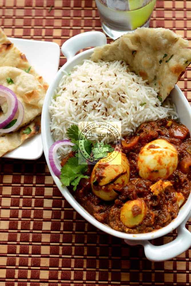 Chettinadu Curry - Egg