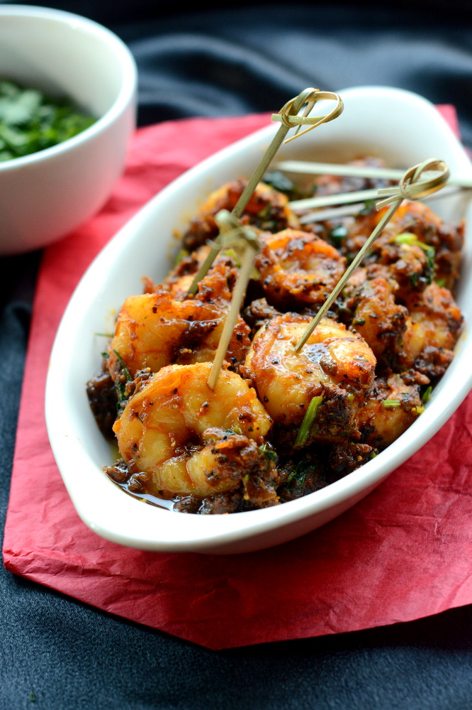 Pepper Fry ( House Special) - Shrimp