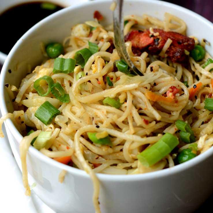 Hakka Noodles - Chicken