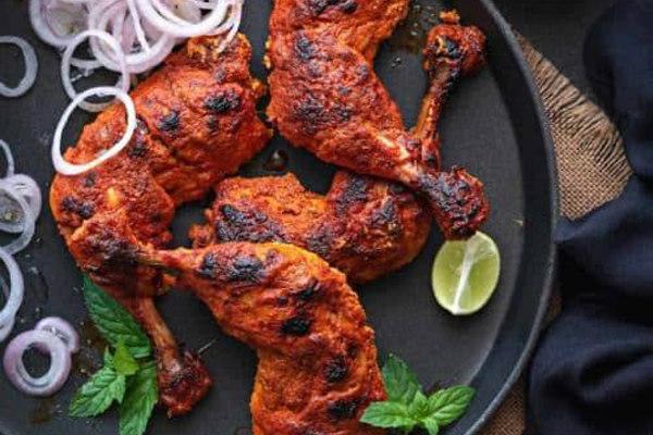 Tandoori Chicken (Full- 4 leg pieces)