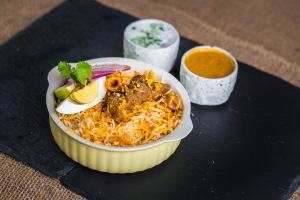 Hyderabadi Goat Dum Biryani (FAMILY PACK)