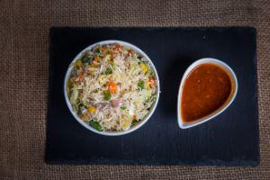 Egg Schezwan Fried Rice