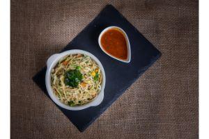 Veg Fusion Noodle & FriedRice