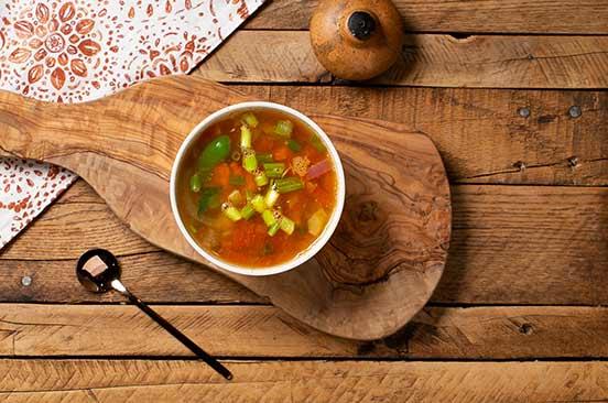 Veg Tom Yum Soup