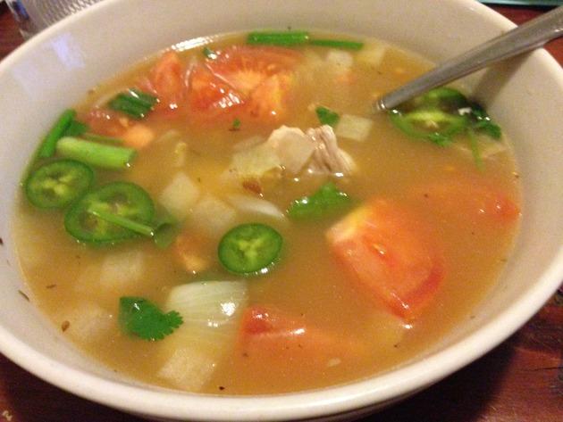 Chicken Tom Yum Soup