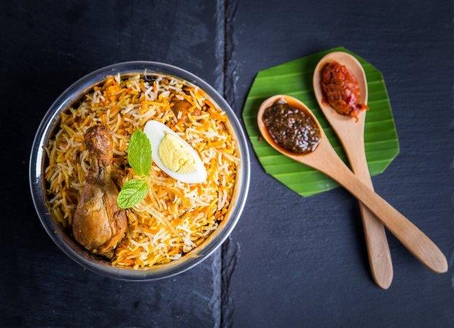 Lahsuni Biryani (House Special) - Chicken