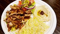 Beef & Chicken Shawarma Platter