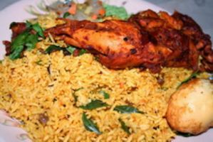 Tandoori Chicken Joint Biryani