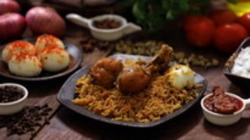 Avakaya Chicken DUM Biryani