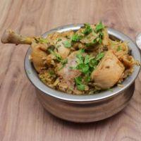 Chicken (B.L) Sukha Biryani