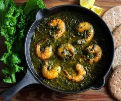 Saag Shrimp