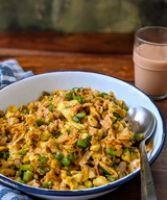 Egg Kothu Paratha