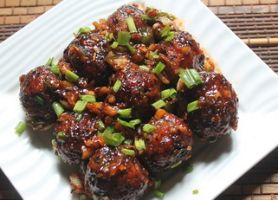 VEGETABLE MANCHURIAN BALLS