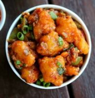 CHILI GOBI ( Cauliflowers) BITES