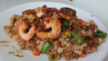 Schezwan Shrimp Fried Rice