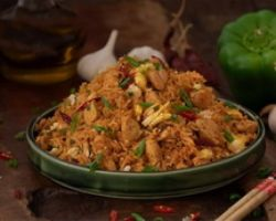 Schezwan Chicken Fried Rice