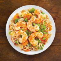 Schezwan Shrimp Noodles