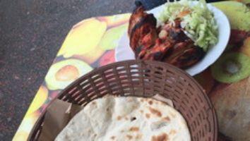 Tandoori Chicken Naan