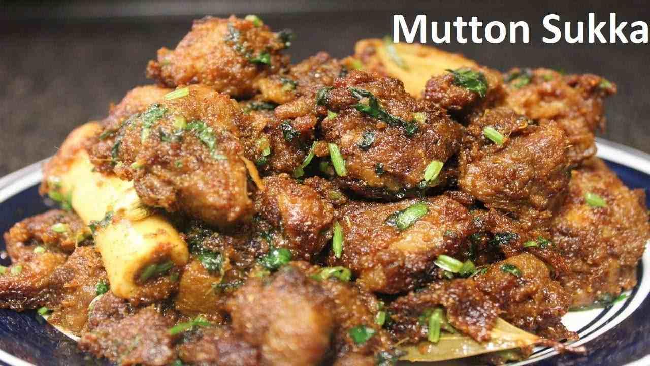 Mutton Sukka (Chef