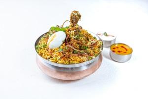 Tikka Biryani: Chicken | Paneer
