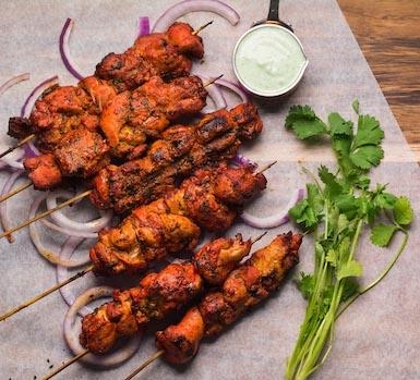 Chicken Tikka Kebab - Bawarchi Special
