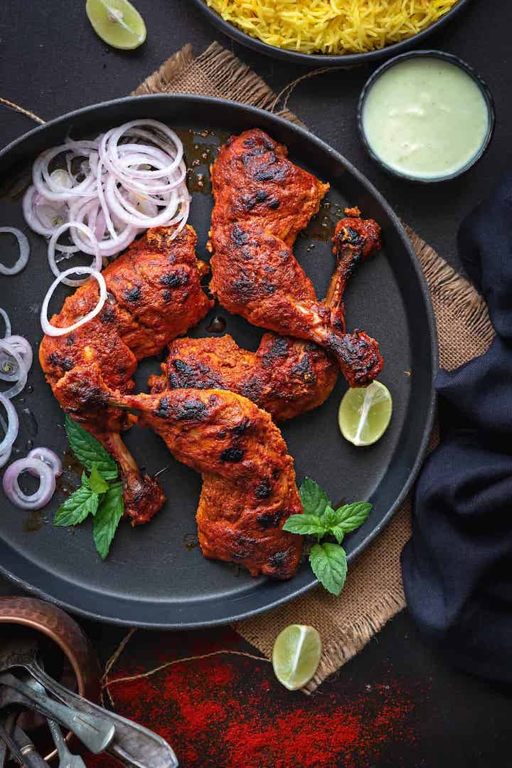 Tandoori Chicken (4 pieces)
