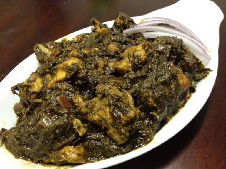 Gongura Chicken - Bawarchi Special