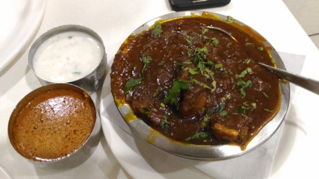 Gongura Goat Curry - Bawarchi Special